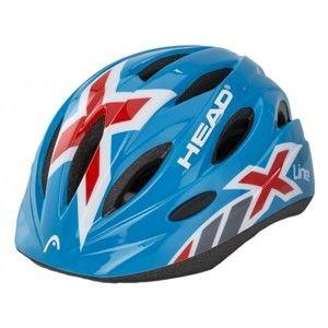 Head PRILBA KID Y01 modrá (48 - 52) - Detská cyklistická prilba