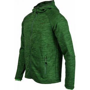 Head FRED zelená L - Pánska flísová bunda