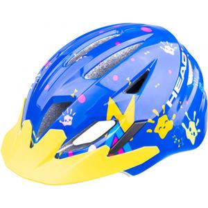 Head Y11A OUT MOULD modrá (52 - 56) - Detská cyklistická prilba