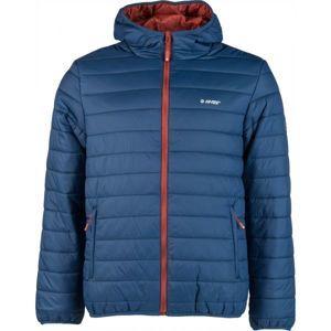 Hi-Tec NISOR modrá M - Pánska prešívaná bunda