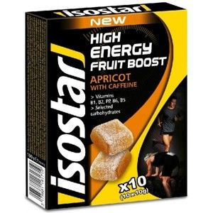 Isostar 10x10 G HIGH ENERGY FRUIT BOOST - Energy želé