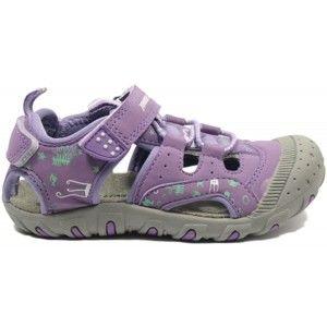 Junior League BERRY fialová 26 - Detské sandále