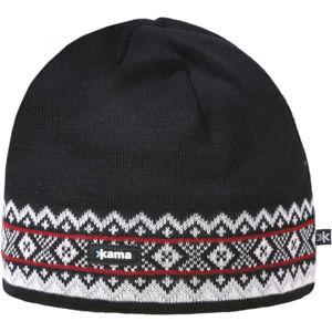 Kama ČIAPKA MERINO A144  UNI - Pletená čiapka s plastickým úpletom