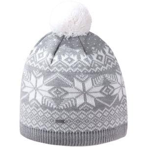 Kama ČIAPKA MERINO A151  UNI - Pletená čiapka s brmbolcom