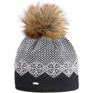 Kama ČIAPKA MERINO A152  UNI - Dámska čiapka s jemným vzorom