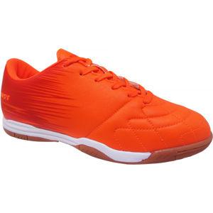Kensis FLINT IN oranžová 28 - Juniorská halová obuv