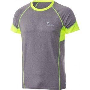 Klimatex ANTON sivá L - Pánske bežecké tričko