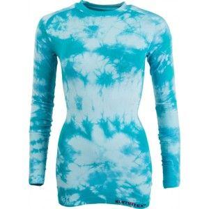Klimatex ROOSA modrá S - Dámske bezšvové termo tričko
