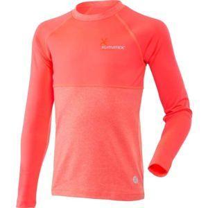 Klimatex WILLY ružová 158 - Detské funkčné tričko