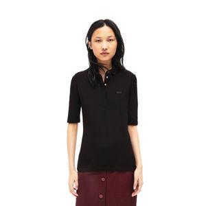 Lacoste S S/S BEST POLO čierna 34 - Dámske polo tričko
