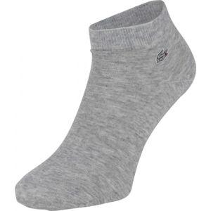 Lacoste SPORT/ LOW CUT SOCKS šedá 35-39 - Ponožky
