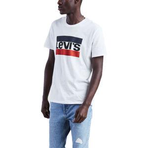 Levi's SPORTSWEAR LOGO GRAPHIC biela XL - Pánske tričko