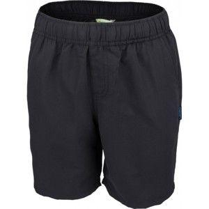 Lewro GABRIEL 140 - 170 čierna 152-158 - Chlapčenské šortky