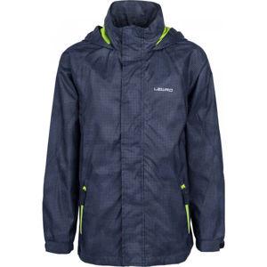 Lewro ODILON tmavo modrá 128-134 - Chlapčenská šuštiaková bunda