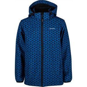 Lewro ALEX modrá 164-170 - Chlapčenská softshellová bunda