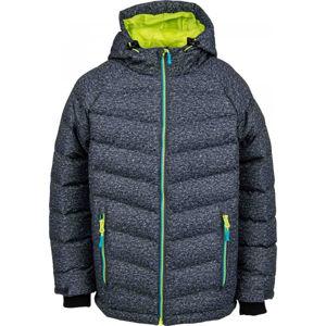 Lewro SHELBY zelená 128-134 - Detská zimná bunda