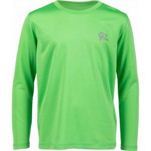 Lewro LOPEZO zelená 164-170 - Chlapčenské tričko