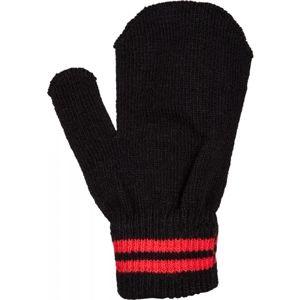 Lewro MEL červená UNI - Detské pletené rukavice