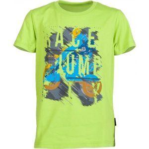 Lewro OZZY svetlo zelená 164-170 - Chlapčenské tričko