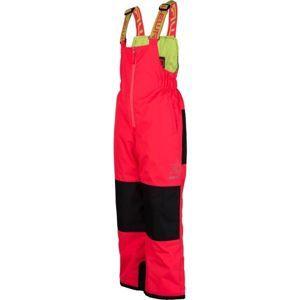 Lewro NIMA ružová 116-122 - Detské zateplené nohavice