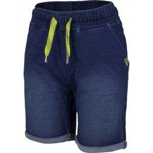Lewro RAYMOND 116 - 134 tmavo modrá 140-146 - Chlapčenské šortky