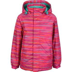 Lewro SIMA ružová 152-158 - Detská snowboardová bunda
