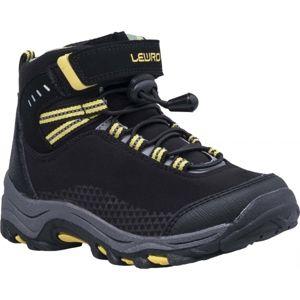 Lewro TESI žltá 30 - Detská treková obuv