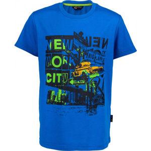 Lewro RIGBY modrá 128-134 - Chlapčenské tričko