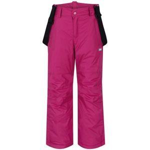 Loap FIDOR ružová 146 - Detské zimné nohavice