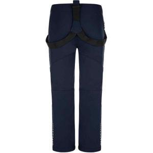 Loap LOCON čierna 146/152 - Detské softshellové nohavice