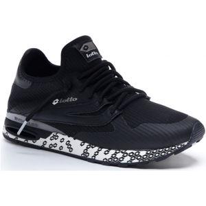 Lotto ATHLETICA RUN LIGHT čierna 43 - Pánska voľnočasová obuv