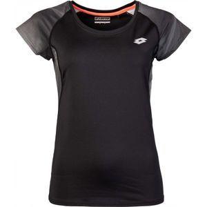 Lotto DARLA čierna XS - Dámske tričko