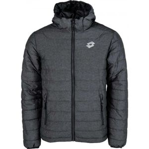 Lotto GEORG tmavo šedá M - Pánska prešívaná bunda