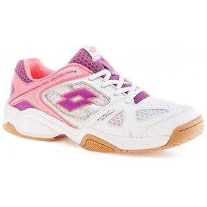 Lotto JUMPER VI JR L biela 38 - Detská halová obuv
