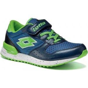 Lotto RECORD VII NY CL SL modrá 33 - Detská voľnočasová obuv