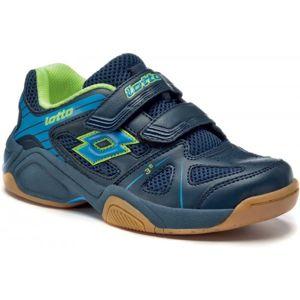 Lotto JUMPER V CL S modrá 29 - Detská halová obuv