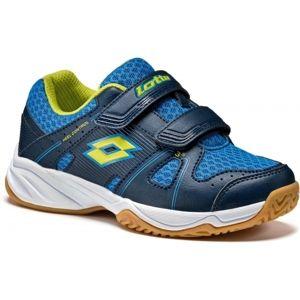 Lotto JUMPER 400 CL S modrá 29 - Detská halová obuv
