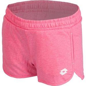 Lotto DOLLY IV SHORT G ružová XS - Dievčenské šortky