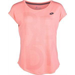 Lotto INDY VI TEE W ružová M - Dámske tričko