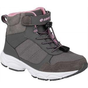 Lotto AION sivá 27 - Detská zimná obuv