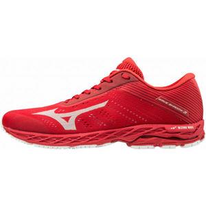 Mizuno WAVE SHADOW 3 červená 9 - Pánska bežecká obuv
