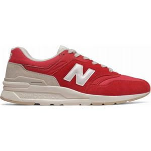 New Balance CM997HBS červená 9.5 - Pánska voľnočasová obuv