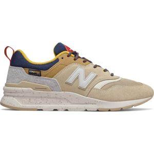New Balance CM997HFA béžová 9.5 - Pánska vychádzková obuv