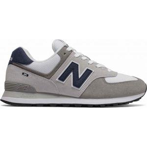 New Balance ML574EAG šedá 10.5 - Pánska lifestylová obuv
