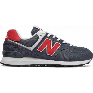 New Balance ML574SCJ tmavo modrá 11.5 - Pánska voľnočasová obuv