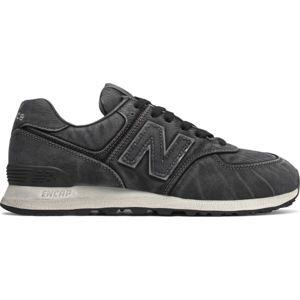New Balance ML574WSB čierna 7.5 - Pánska vychádzková obuv