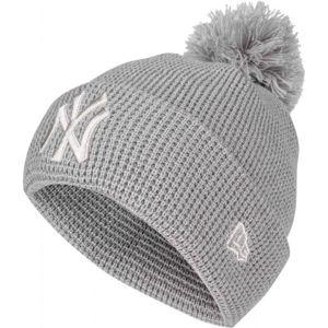 New Era FEMALE BOBBLE CUFF NEW YORK YANKEES  UNI - Dámska zimná čiapka