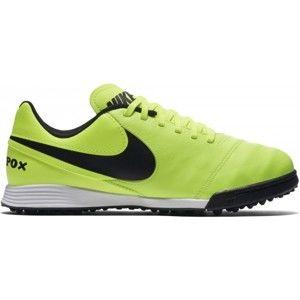 Nike JR TIEMPO LEGEND VI TF žltá 5Y - Detské kopačky