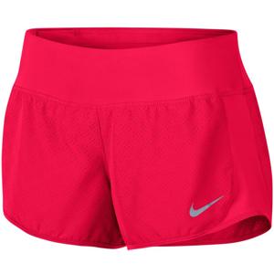 Nike W NK DRY SHORT CREW NV červená XL - Bežecké šortky