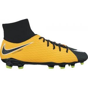 Nike HYPERVENOM PHELON FG DF žltá 10.5 - Pánske kopačky
